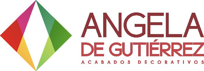 Angela De Gutiérrez - Acabados decorativos | Logo